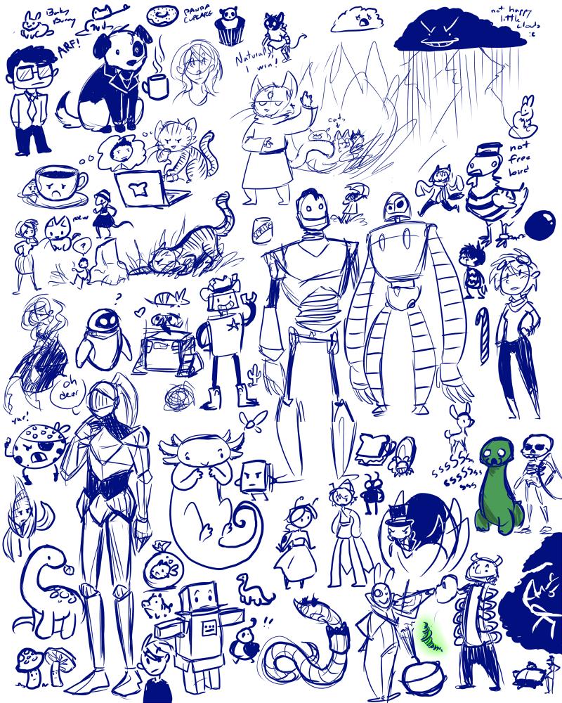 Livestream Doodles