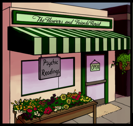 Psychic Florist